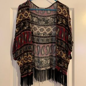 Printed kimono from Charlotte Russe
